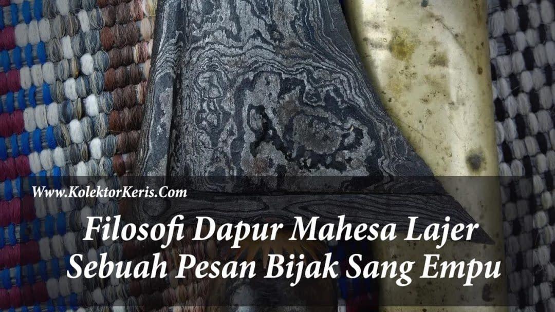 Filosofi Dapur Mahesa Lajer